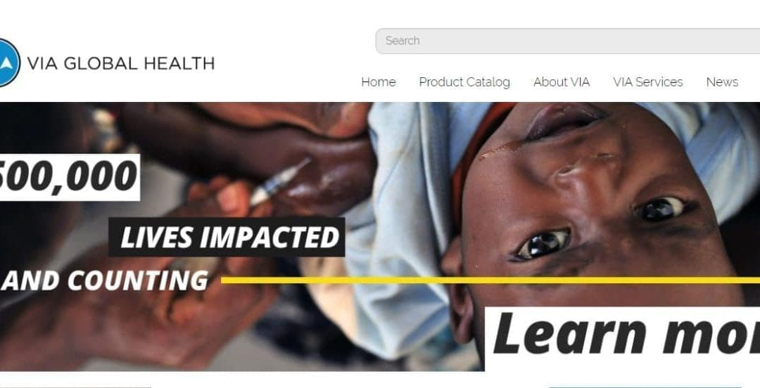 VIA Global Health Has Positively Impacted Over 500,000 Lives